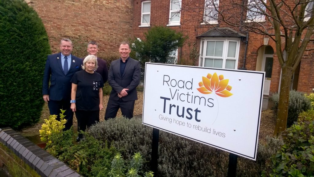 Pcc Cambs visit to RVT