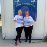 Bailey sister's Skydive